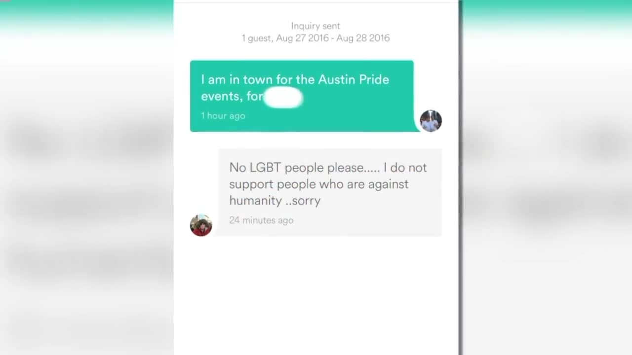 Man Says He Was Turned Down by Airbnb Host for Being Gay