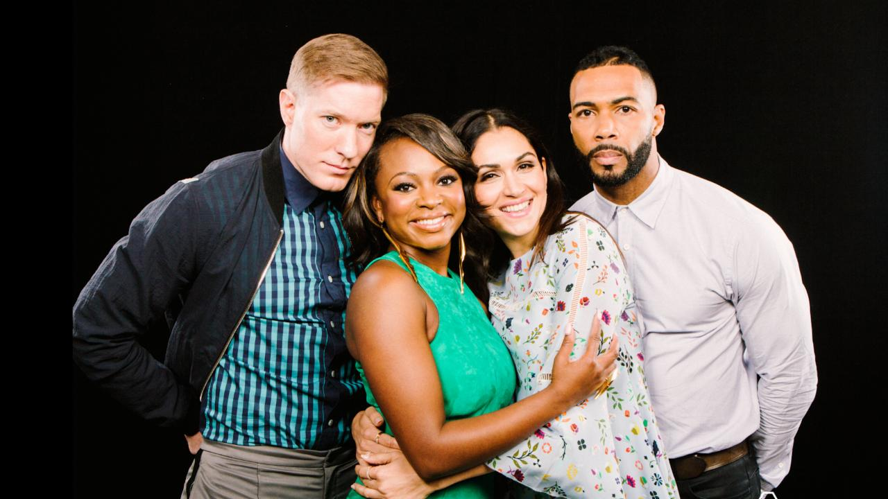 "Omari Hardwick, Naturi Naughton, Lela Loren and Joseph Sikora On ""Power"""