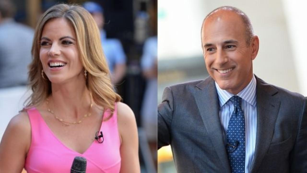 Natalie Morales and <b>Matt</b> <b>Lauer</b> deny affair rumors (again ...