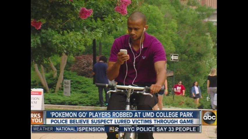 Pokemon Go players robbed at UMD