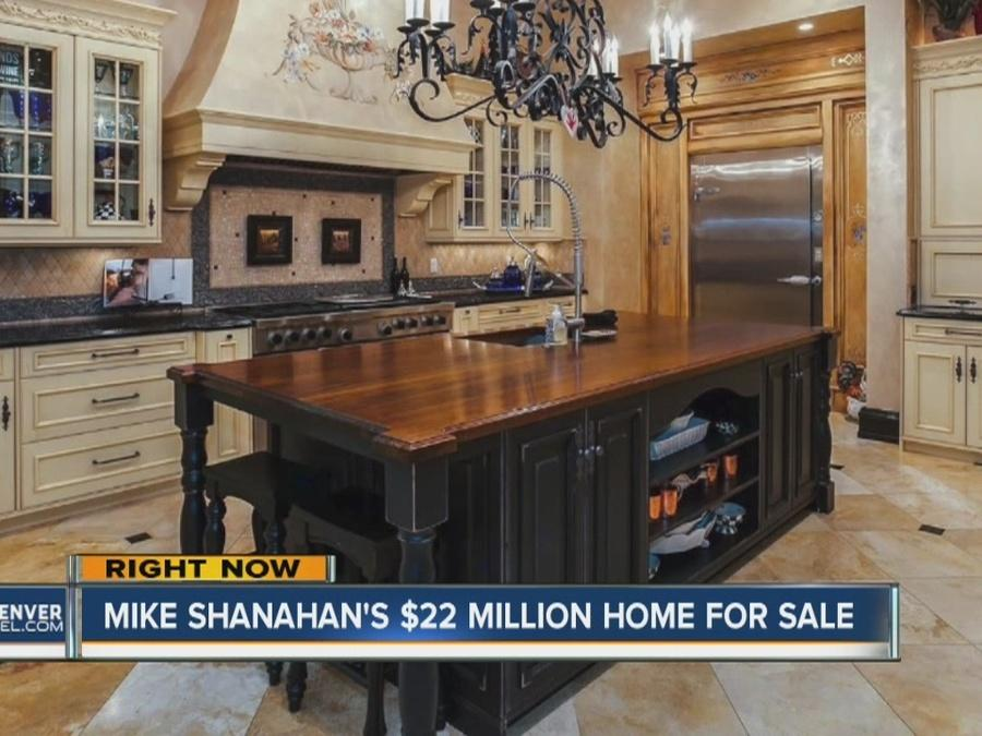 Mike Shanahan's home up for sale with $22 million price tag