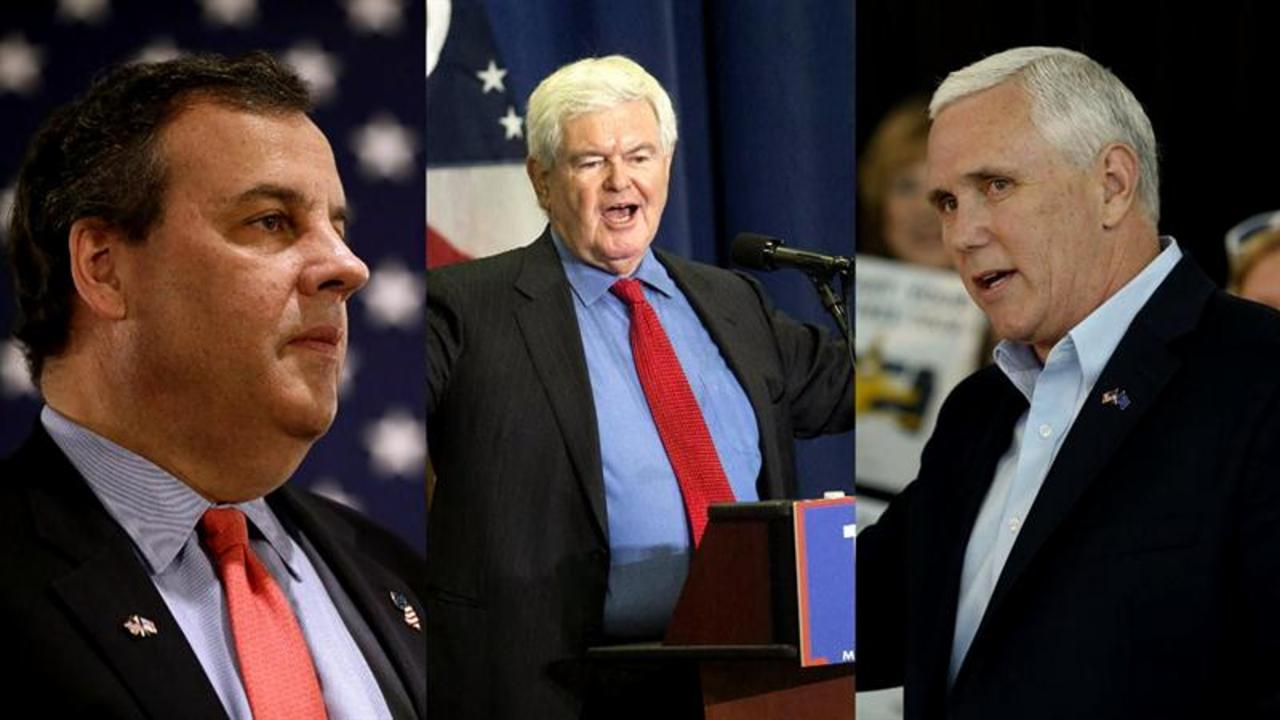 Donald Trump's Top VP prospects: Mike Pence, Chris Christie, Newt Gingrich