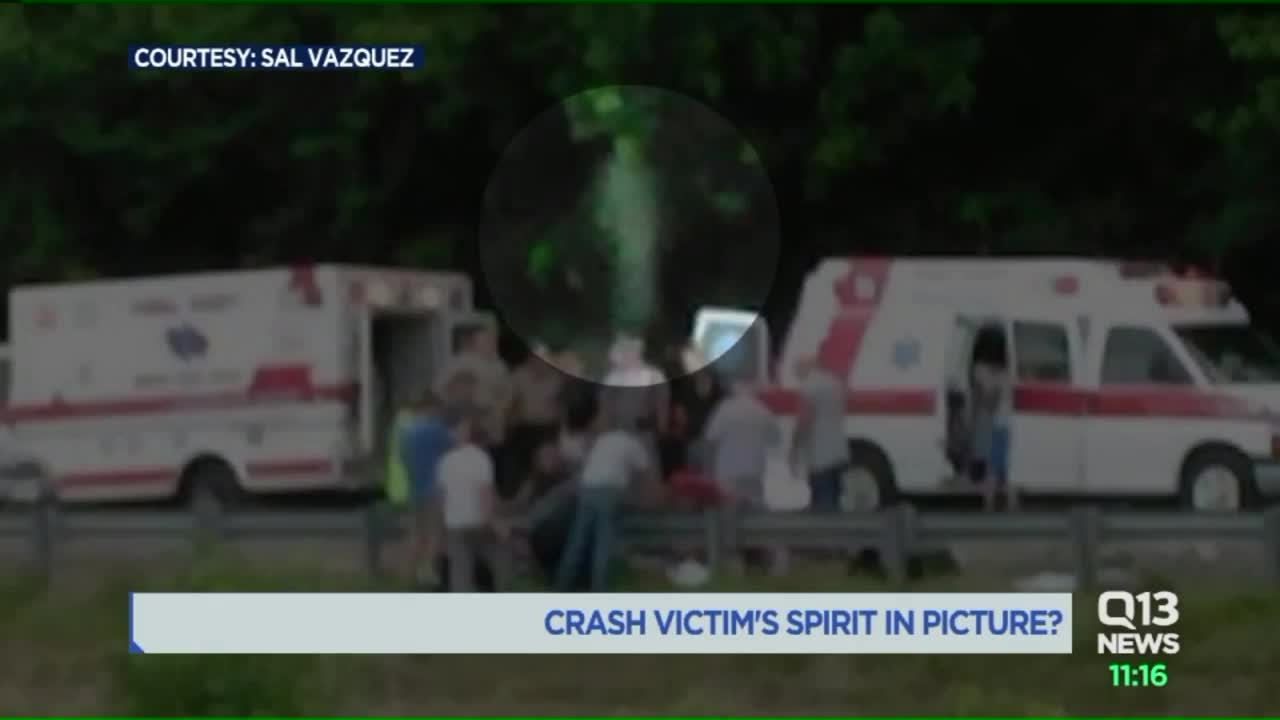 Photo of fatal wreck goes viral after people claim to see ...