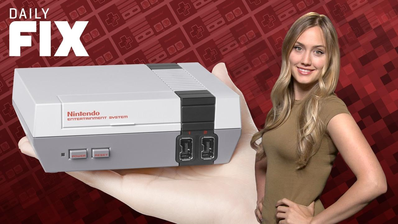 Nintendo's New NES Console Is Rad