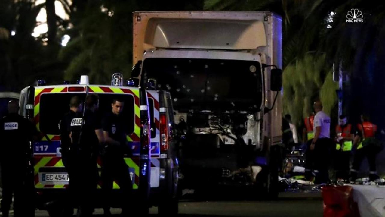 Nice Truck Attack Captured On Social Media