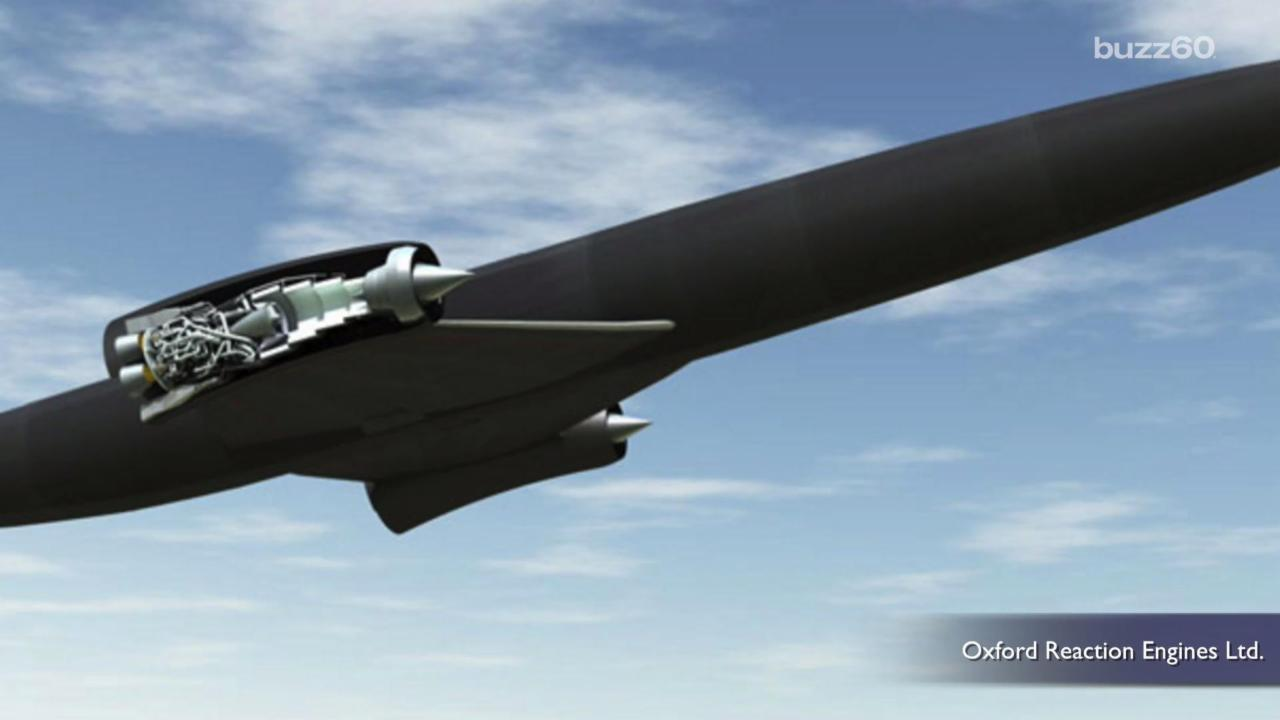 Jet Plane That Could Fly Anywhere in World in 4 Hours