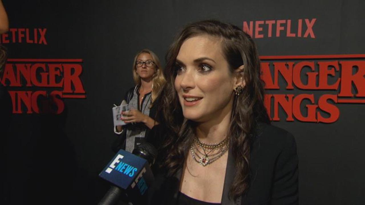 Winona Ryder Works on First Series 'Stranger Things'