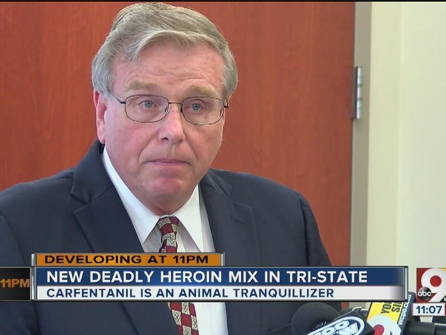 Heroin, animal tranquilizer combo appears in Hamilton Co