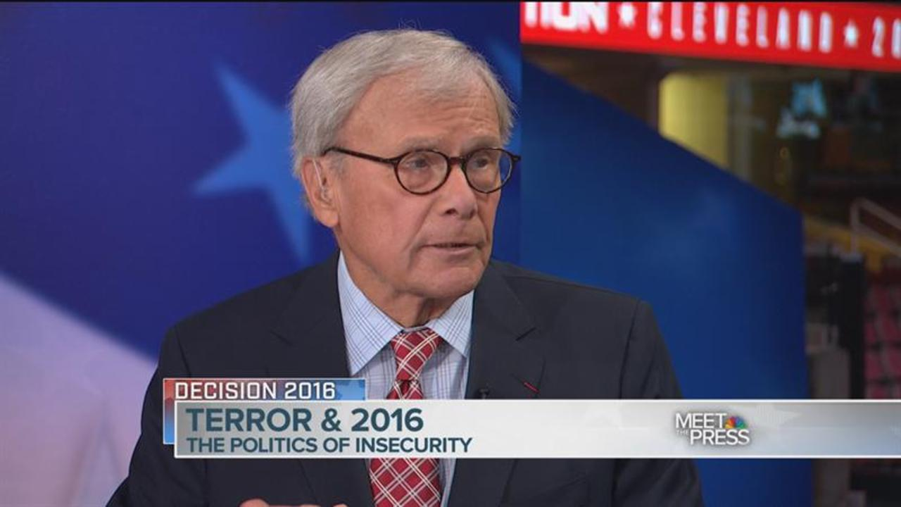 Brokaw on Race Relations: 'I Thought We'd Be a Different Country by Now'