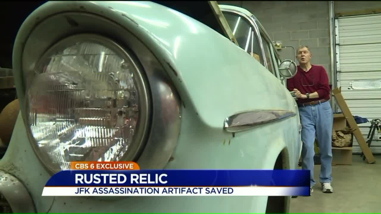 How a Car Driven by Lee Harvey Oswald Ended Up in a Virginia Garage