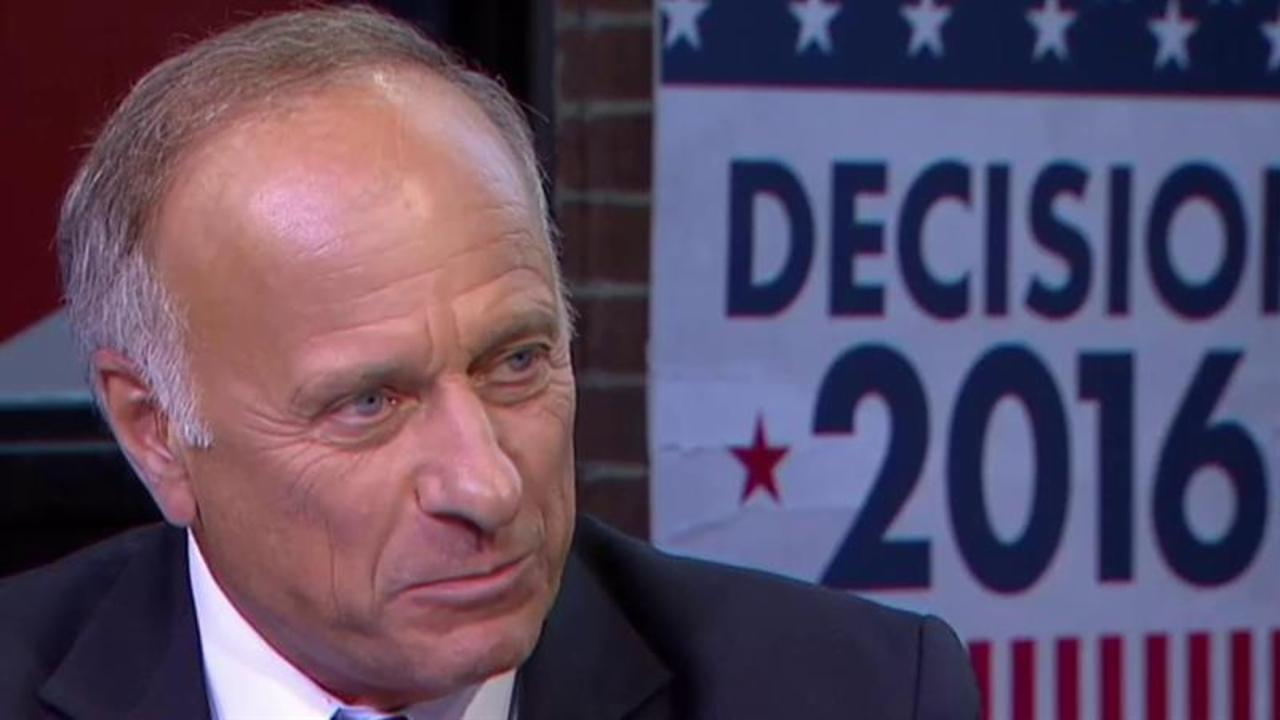 GOP Rep. Steve King's jaw dropping remarks
