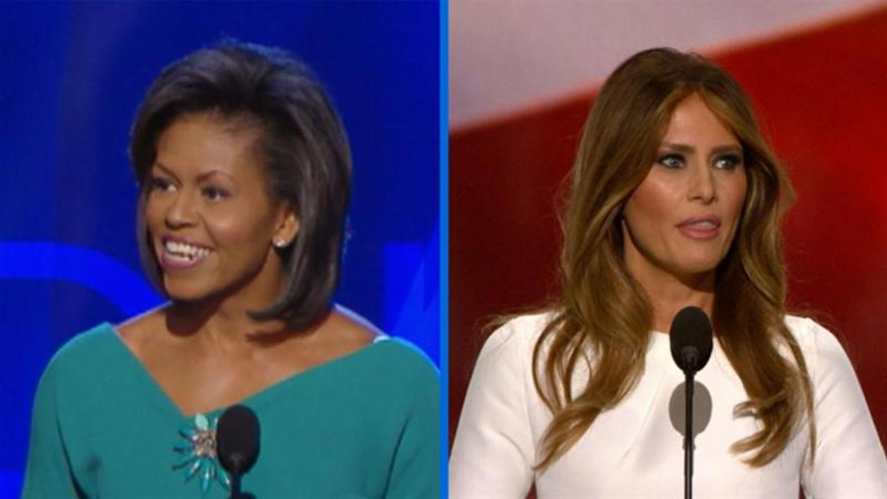 Michelle and Melania: Side by Side Similarities