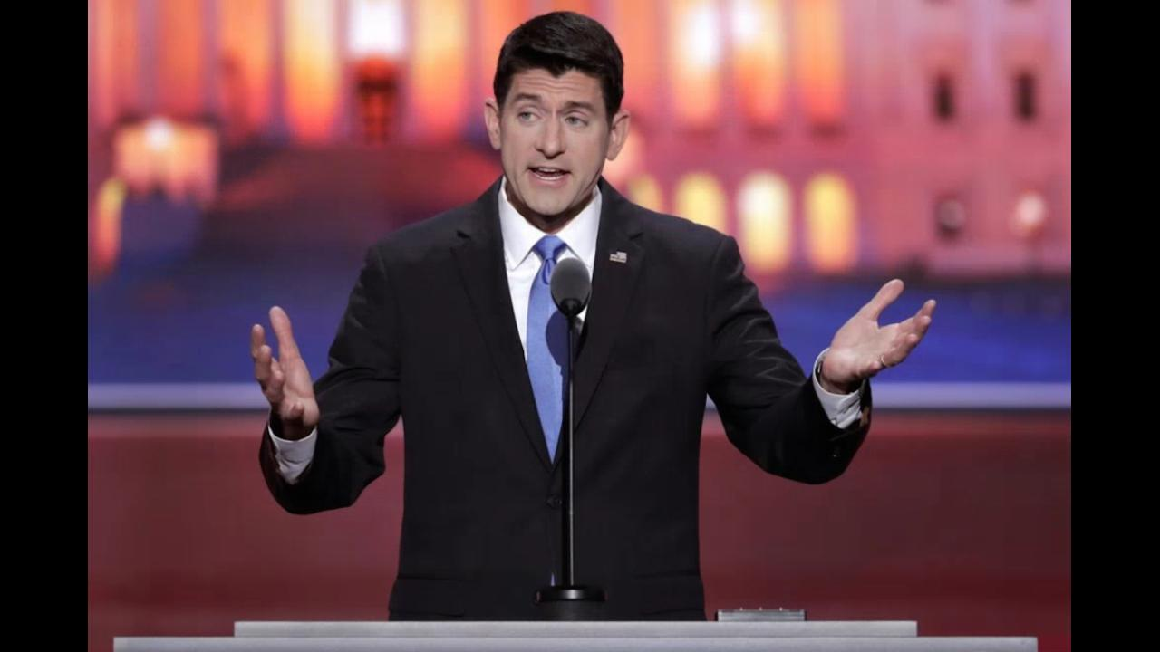 Paul Ryan's full speech at the Republican National Convention