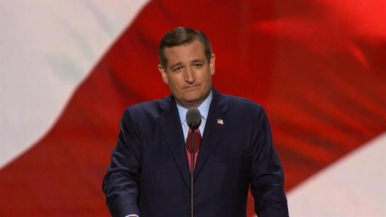 Ted Cruz Booed at Republican National Convention