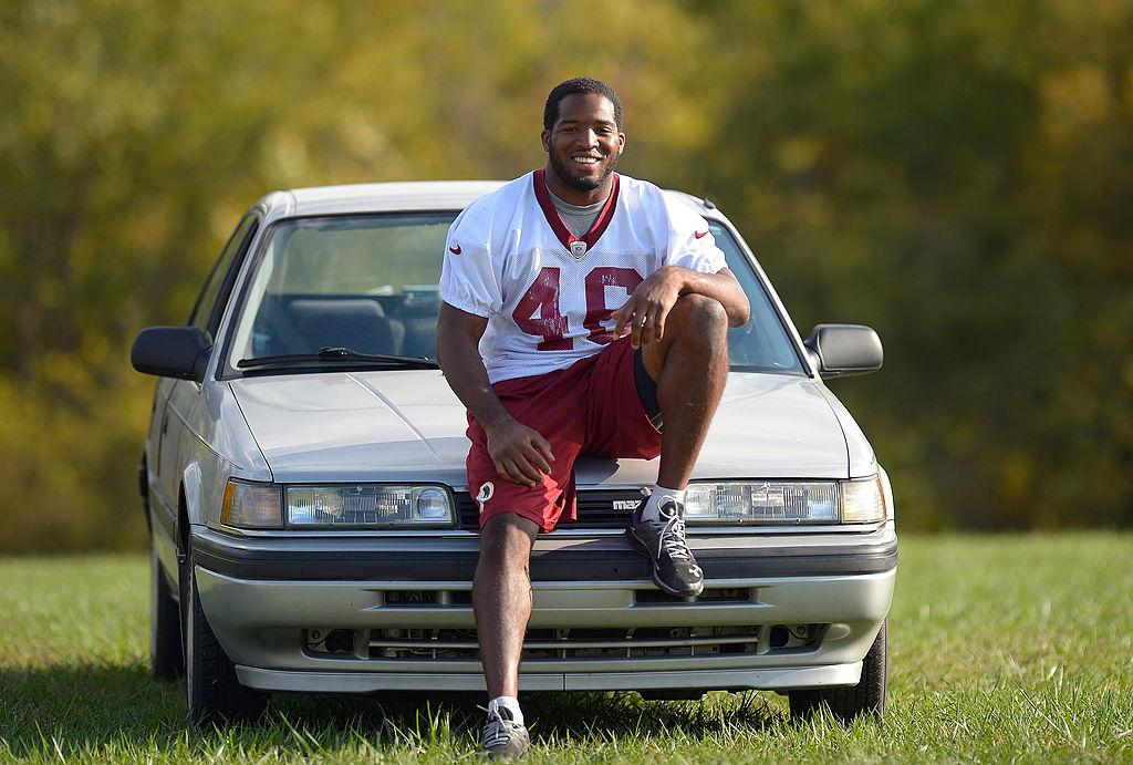 NFL player still drives a 25-year-old car he bought for $2