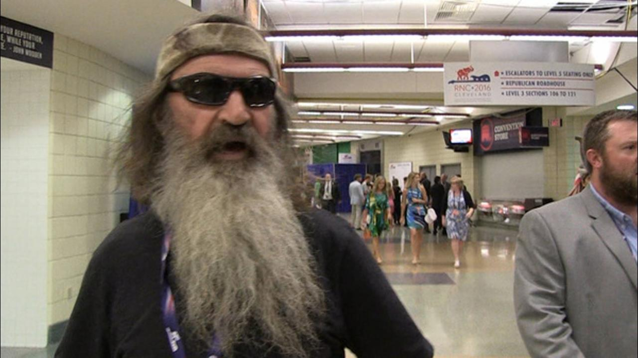 Phil Robertson to Ted Cruz... Get On Board with Donald Trump!