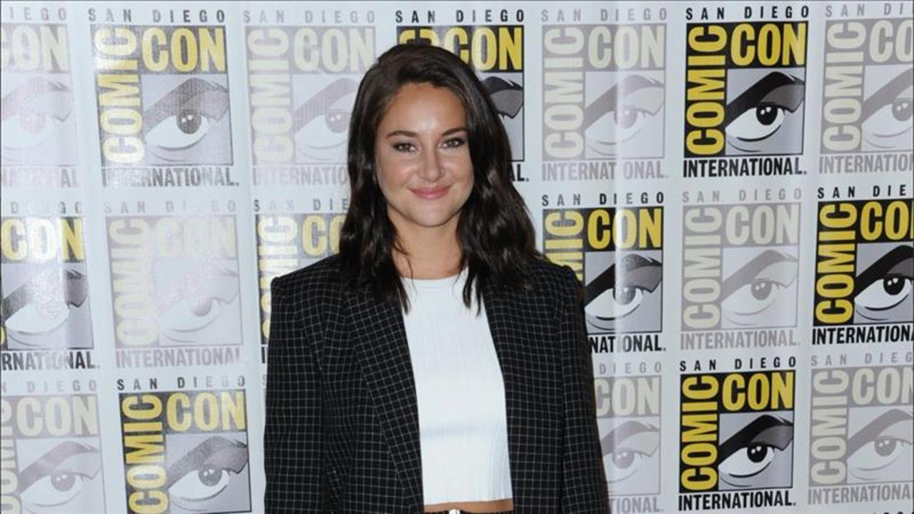 "Shailene Woodley Reacts to ""Ascendant"" TV News"
