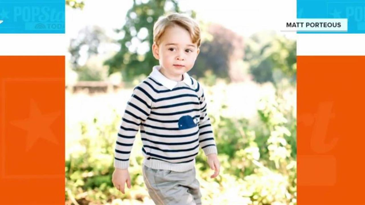 Prince George is 3! See his new photos with dog Lupo