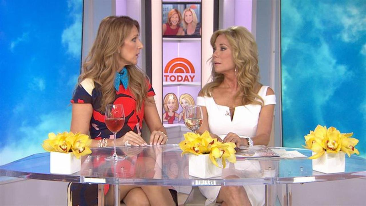 Kathie Lee and Celine Dion share sincerely about losing loved ones