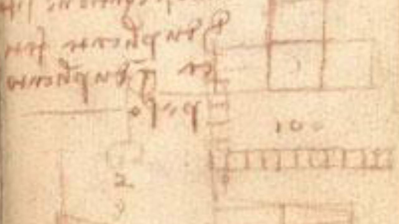 Researcher Makes Incredible Find In Leonardo da Vinci's 'Irrelevant' Scribbled Notes