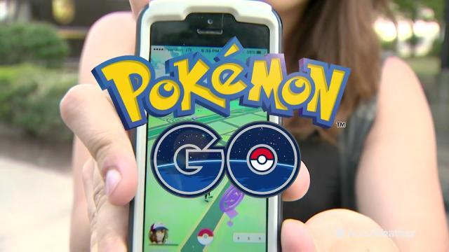 "Weather can influence your ""Pokémon Go"" game!"