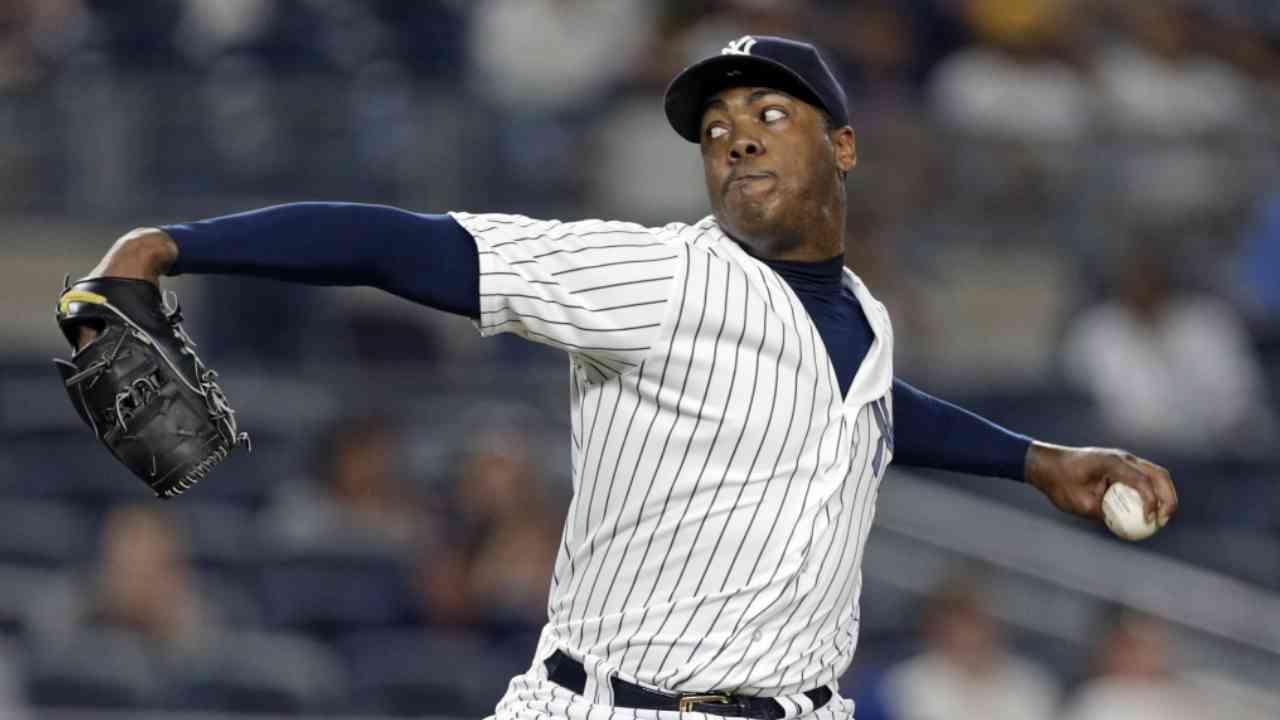 Yankees Close to Trading Aroldis Chapman