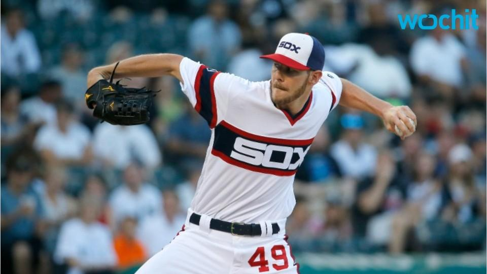 Chris Sale Explains Cutting Up White Sox Uniforms