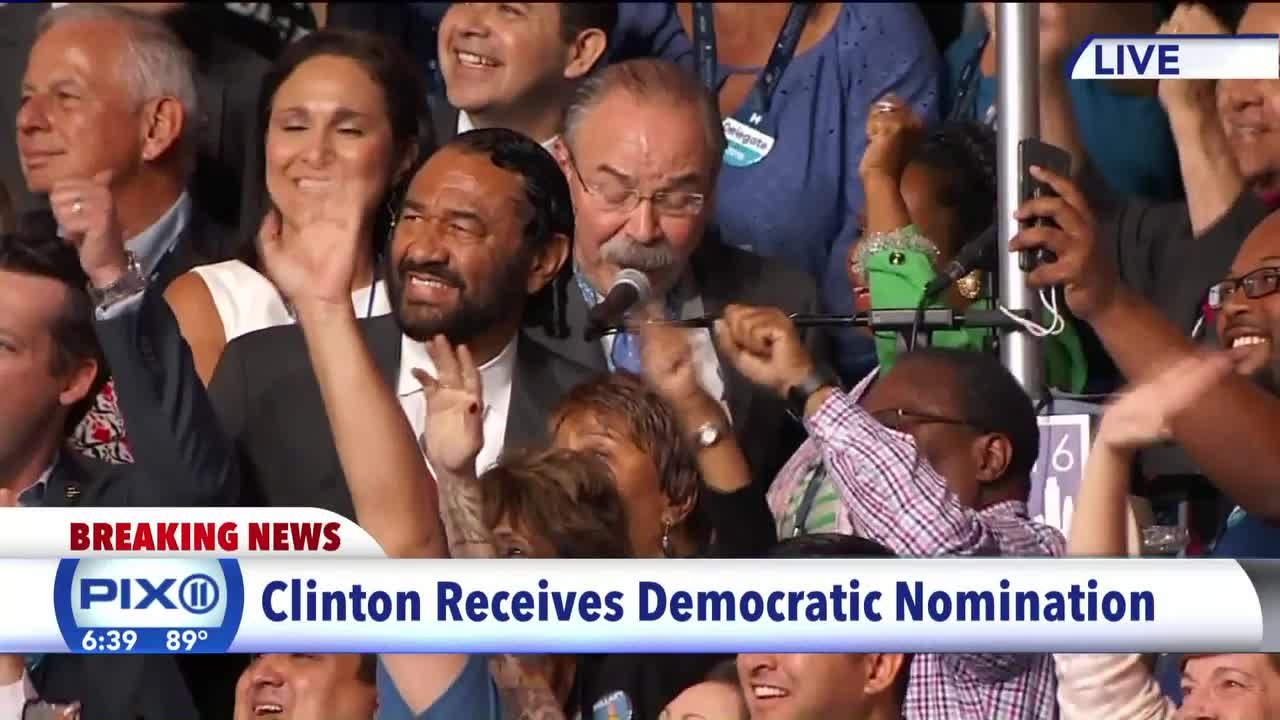 Hillary Clinton Formally Nominated As Democratic Presidential Nominee