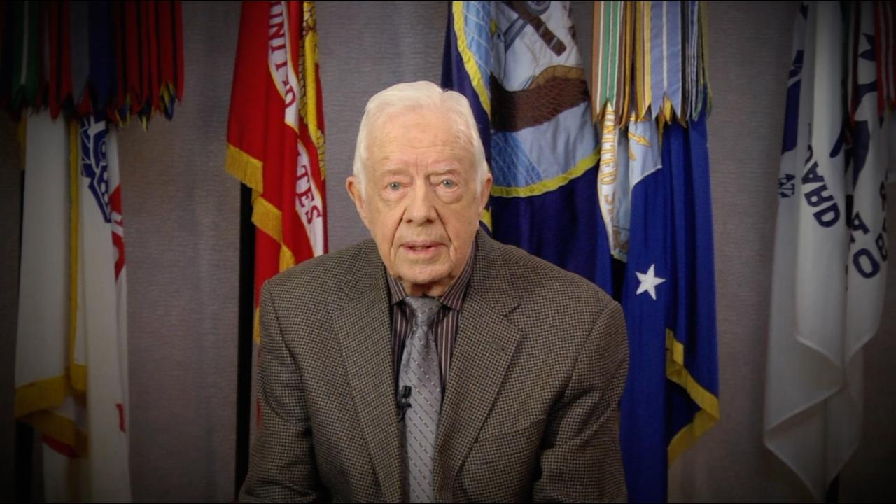 Jimmy Carter urges young people to vote