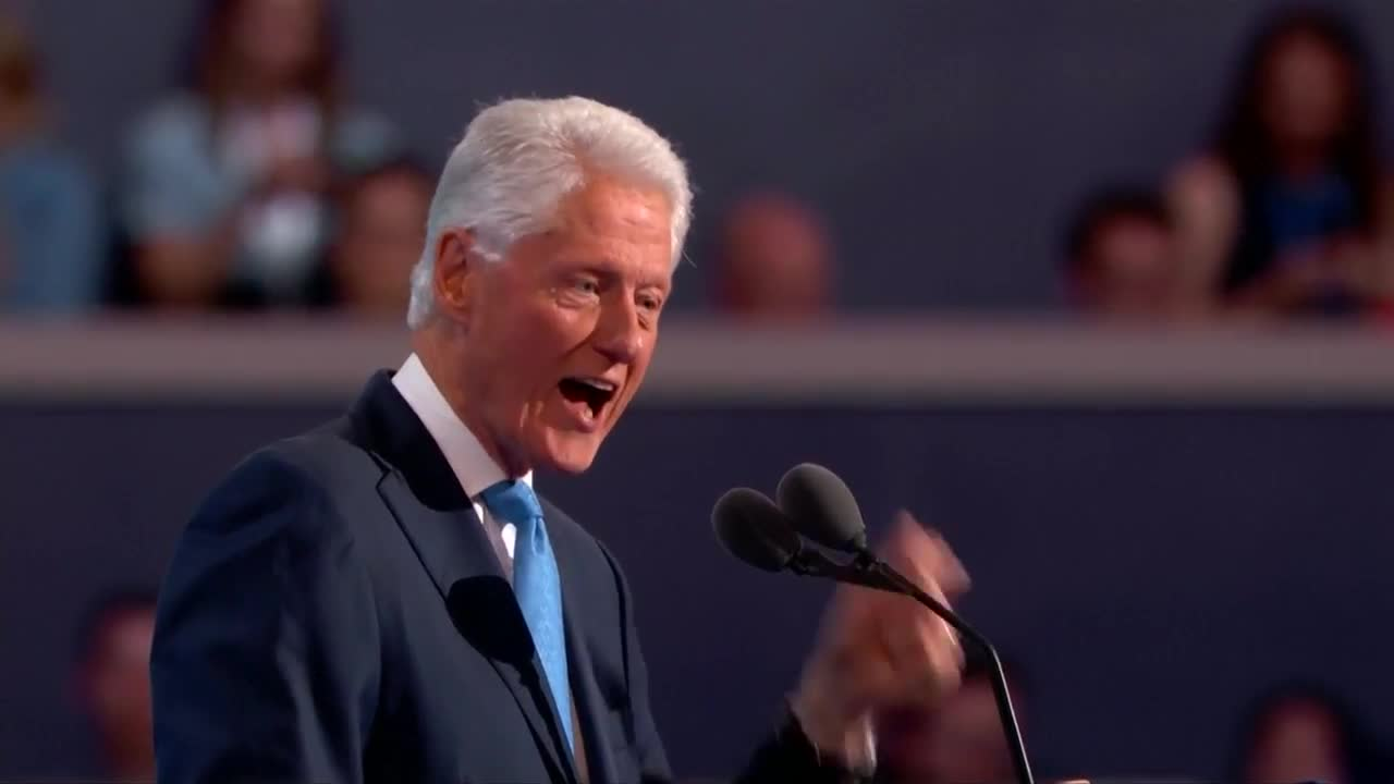 Bill Clinton: If you want change, vote for Hillary