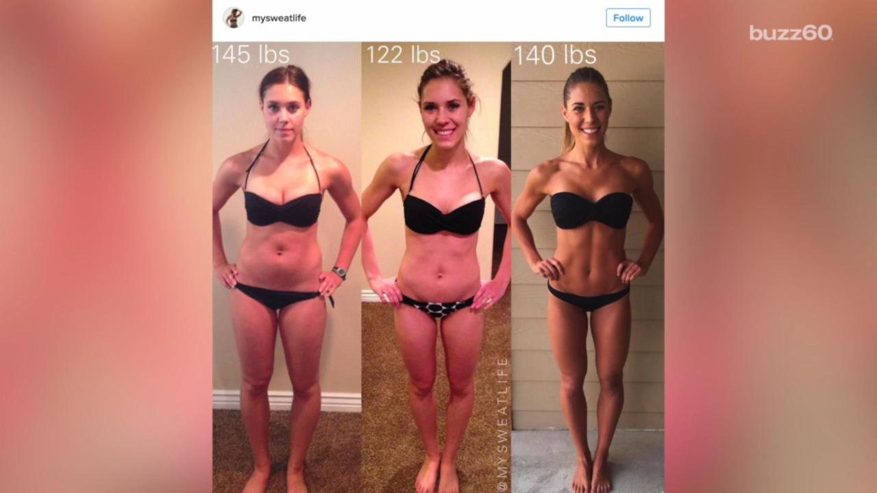 Instagram Fitness Stars Prove Looking Good Isn't About Numbers