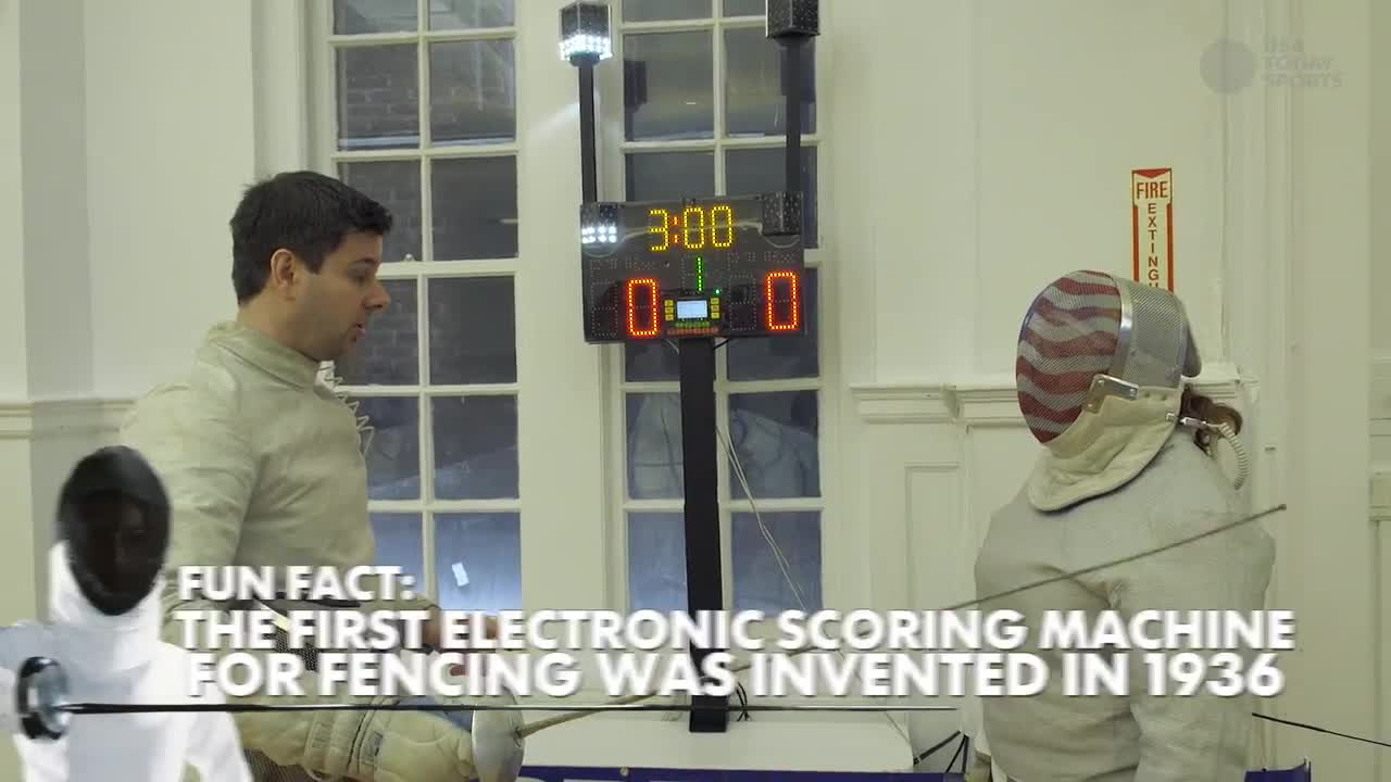 Fencing lessons from an Olympian