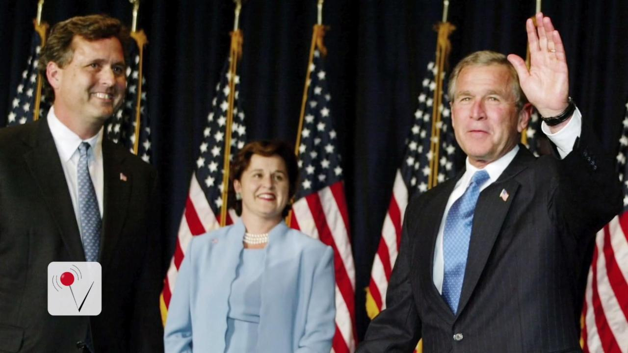 Jeb and George W. Bush's Brother Endorses Gary Johnson
