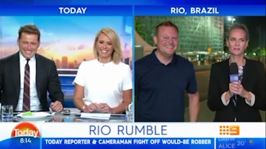Karl Stefanovic's 'Tranny' Jokes On Today Show