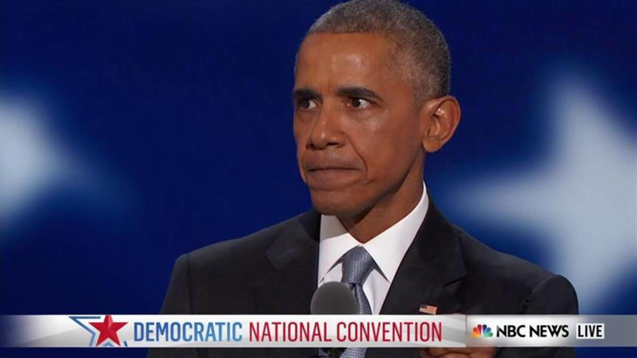 Obama: 'America, You Have Vindicated That Hope'