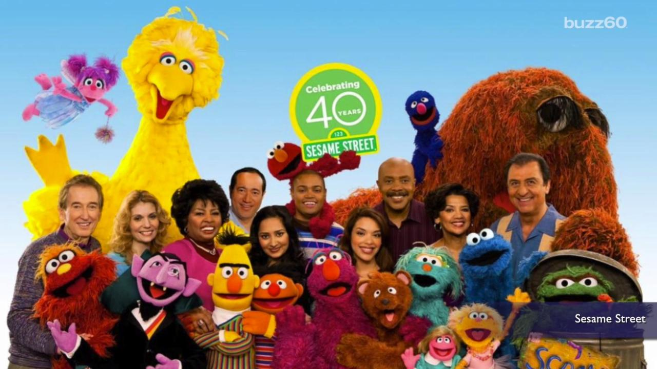 After 45 years, 'Sesame Street' Cuts Original Cast Members