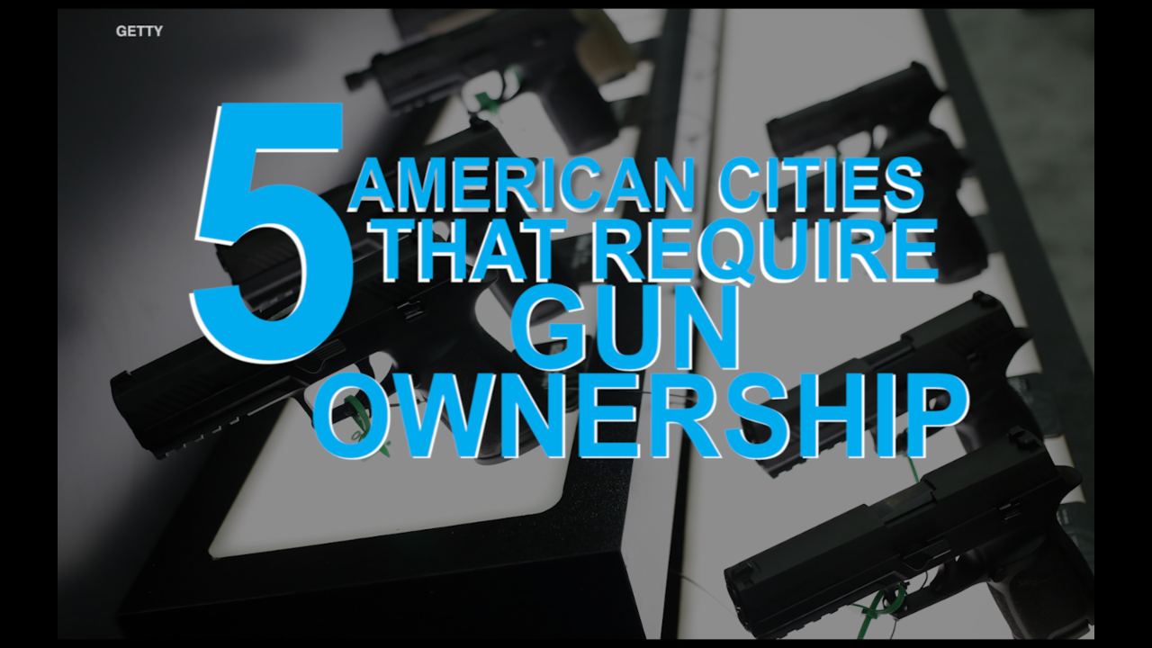 5 American cities that require you to own a gun