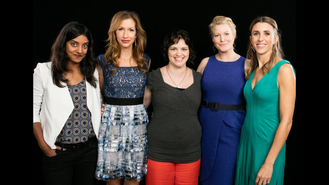 "Anna Gunn, Meera Menon, Sarah Megan Thomas, Alysia Reiner & Amy Fox On ""Equity"""