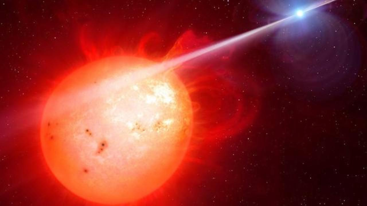 Scientists Spot A White Dwarf Giving Its Companion Star A Cosmic Lashing