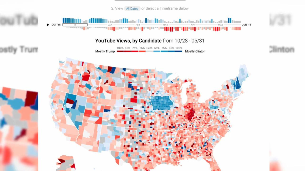 Can YouTube Predict the Election?