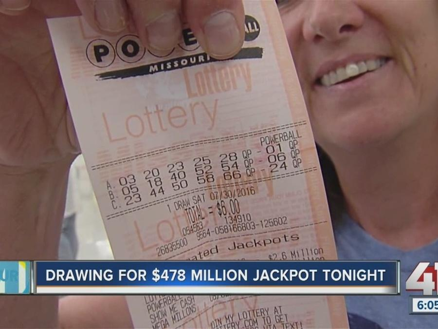 Saturday Powerball nearing half billion dollars