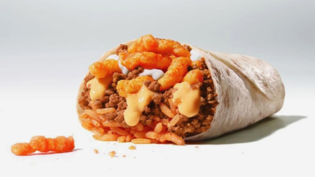 Taco Bell to Test Out Cheetos Burritos