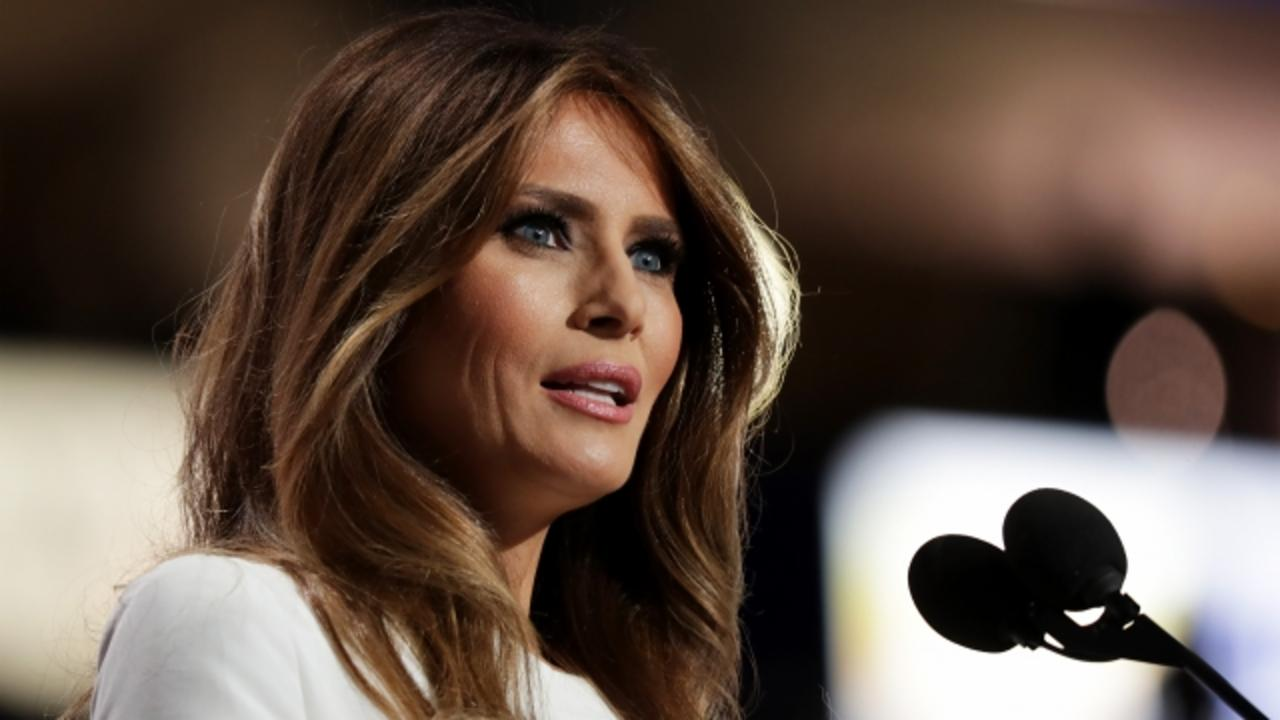 Old Nude Photos Put Melania Trump Under Spotlight She Didn't Ask For