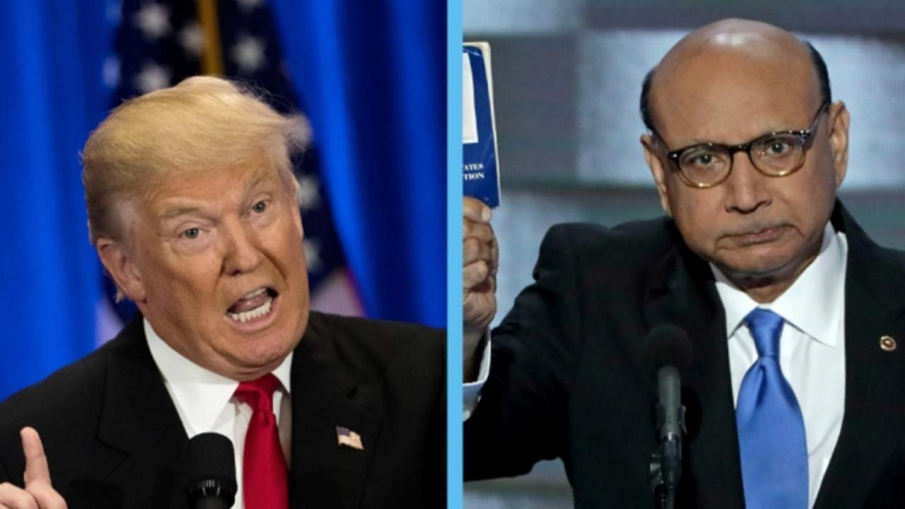 GOP Politicians Side With the Khans but Ignore Trump's Insults