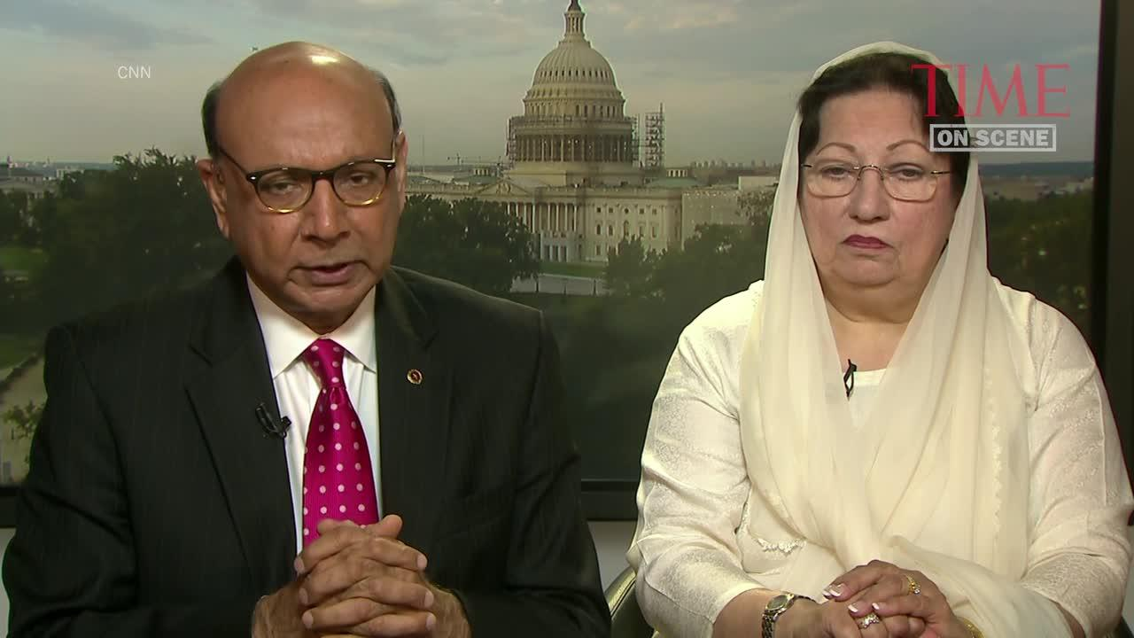 Khan Family Comments on Trump