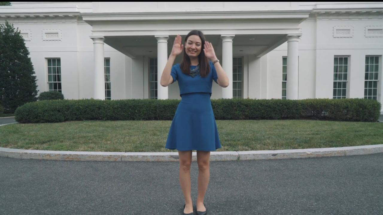 Meet ROTUS, the White House's first deaf receptionist