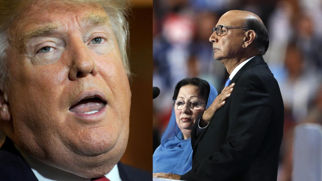 Republicans condemn Trump for his comments against the Khan family