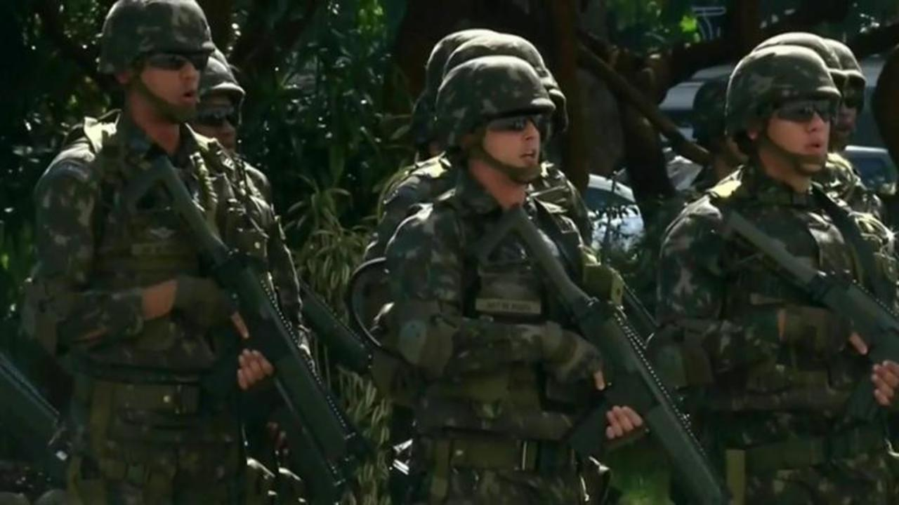 Rio Olympics: Inside Brazil's Massive Security Operation
