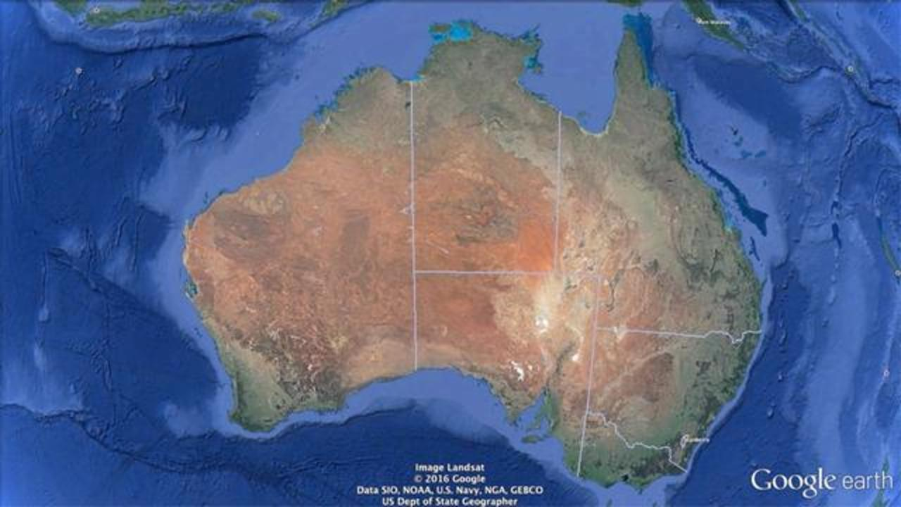 Australia Has Drifted About 5 Feet