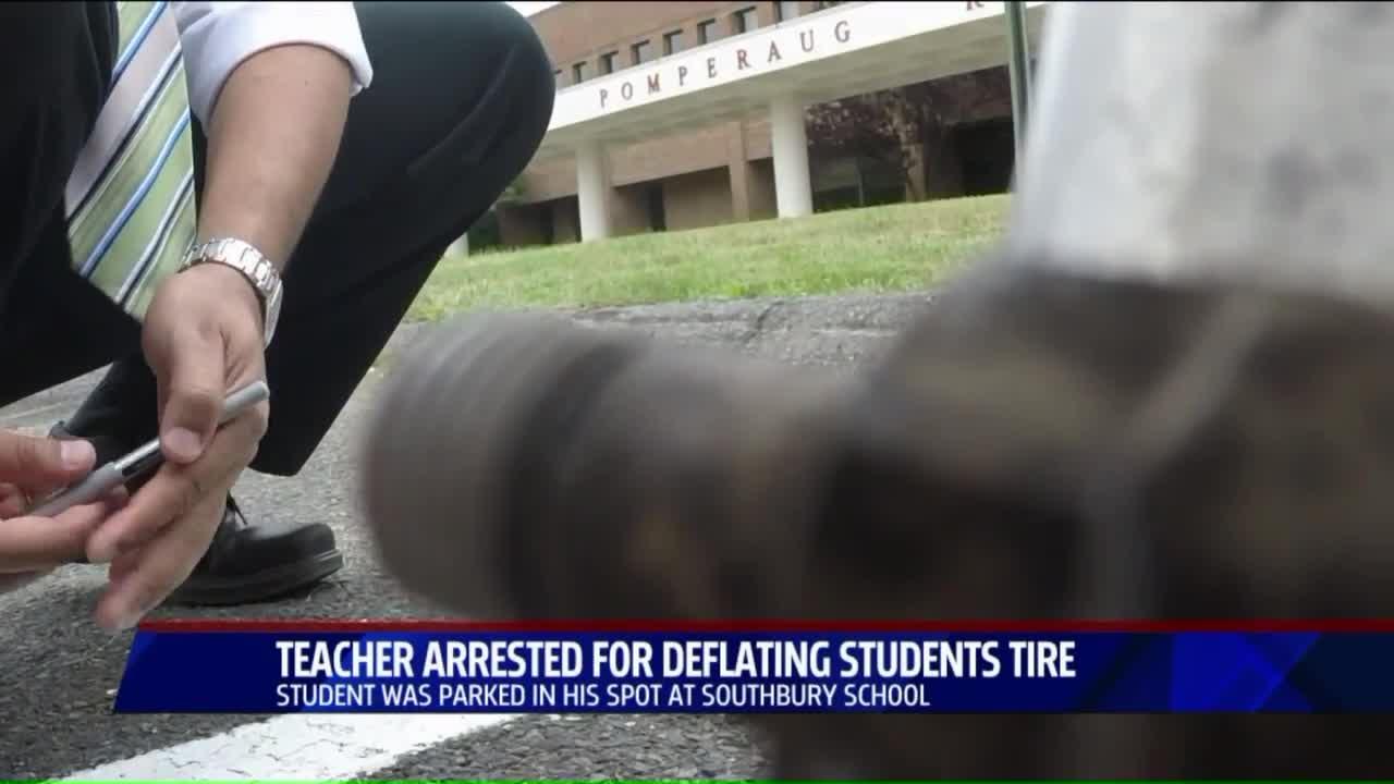 Teacher Arrested for Allegedly Letting Air Out of Student's Tires